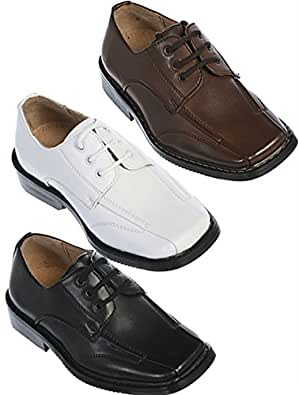 boys black leather shoes dress shoes toddler 9