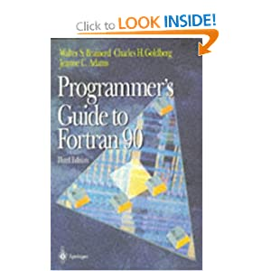 Programmer's Guide to Fortran 90