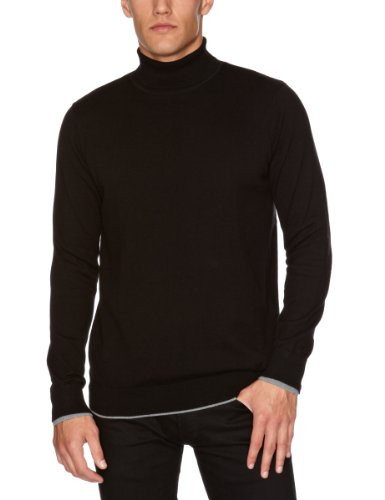 GUIDE LONDON KW.2447 Men's Jumper Black Medium