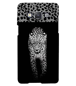 PrintVisa Animal Leopard Print & Pattern 3D Hard Polycarbonate Designer Back Case Cover for Samsung Galaxy A5