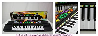 37 Keys Electronic Keyboard - MIC Included for Kids 3y+