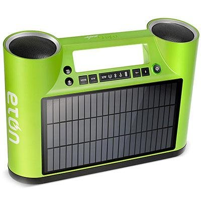 Eton Rukus Solar Sound System Green Rukus Solar Sound System Green
