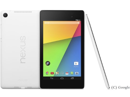 Nexus 7 Wi-Fiモデル 32GB ME571-WH32G ホワイト [2013] (ホワイト)