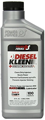 Power Service 3025 +Cetane Boost Diesel Kleen Fuel Additive - 32 oz.