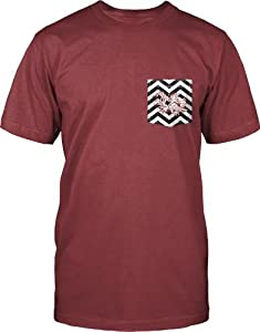 Buy South Carolina Gamecocks NCAA Comfort Colors Unisex Zig Zag T-shirt - Red by Unknown