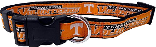 Pets First Collegiate Tennessee Volunteers Pet Collar, Large