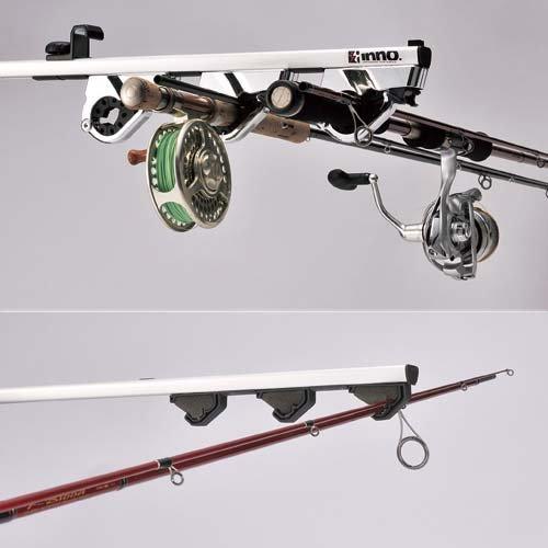 new carmate inno fishing rod holder five loading dual hold type if6 car interior ebay. Black Bedroom Furniture Sets. Home Design Ideas