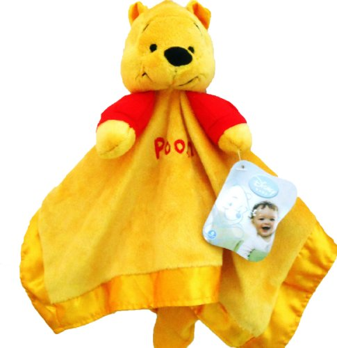 Security Blanket & Rattle (Pooh) front-641145