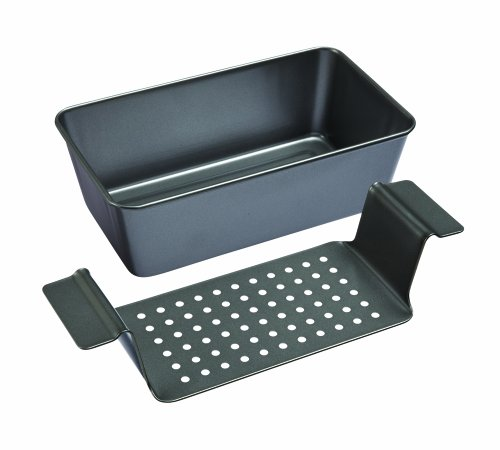 Chicago Metallic Non Stick Healthy Meatloaf Set (Drain Pan For Cooking compare prices)