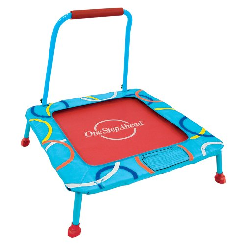 Softbounce And Hardbounce Mini Trampolines: Cheap Trampoline: Toddler Trampoline With Handle
