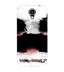 PrintVisa Joker Design 3D Hard Polycarbonate Designer Back Case Cover for Samsung Galaxy S4 Mini