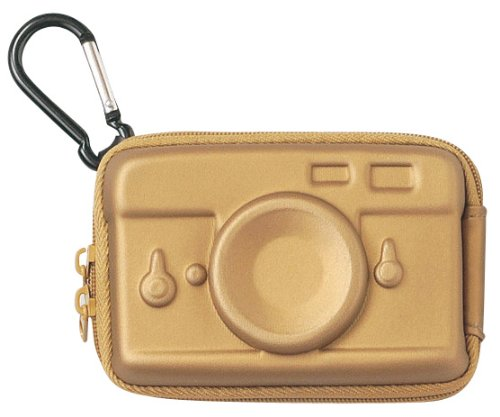 Hard digital camera case (camera) Gold