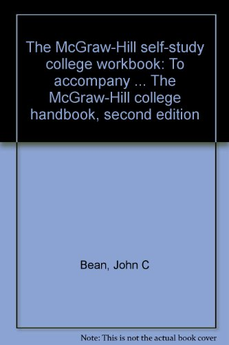 The McGraw-Hill self-study college workbook: To accompany ... The McGraw-Hill college handbook, second edition PDF
