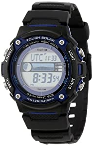 Casio Men's WS210H-1AVCF Tough Solar-Powered Tide and Moon Digital Sport Watch