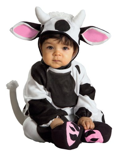 Baby Cozy Cow Costume Size Newborn to 6 Months