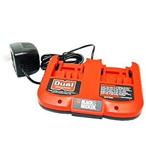 Black and Decker 5106551-01 18 volt dual station battery charger