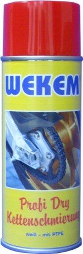 1x 400ml Wekem Kettenspray Kettenfett PTFE Teflon WS667