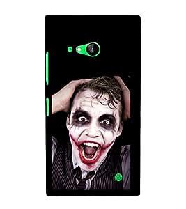 printtech Joker Back Case Cover for Nokia Lumia 730::Microsoft Lumia 730