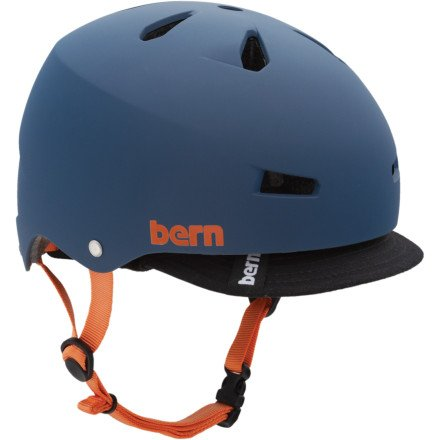 Bern Macon Summer Matte EPS Helmet with Visor