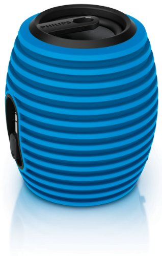 Philips Sba3010/37 Soundshooter Portable Speaker (Blue)