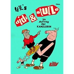 eBook Cover für  Zitty Comic 01 Didi amp Stulle Nr 9 Didi amp Stulle im Auftrag der Kanzlerin