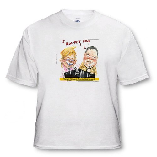 Elton and Captain Kirk In Concert - Toddler T-Shirt (2T)