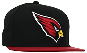 NFL Arizona Cardinals Black and Team Color 59Fifty Fitted Cap by New Era