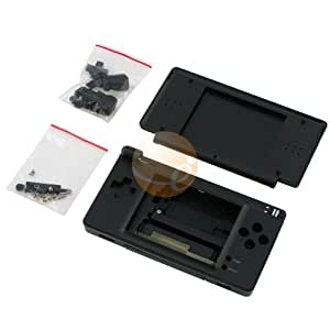 onyx black high quality full repair housing replacement kit for nintendo ds lite. Black Bedroom Furniture Sets. Home Design Ideas