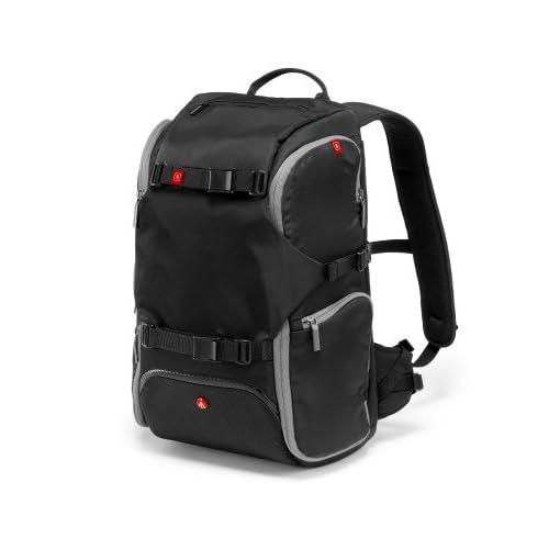 manfrotto カメラリュック advancedコレクション MA トラベルバックパック  12L レインカバー付属 三脚取付け可 ブラック MB MA-BP-TRV
