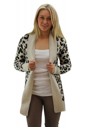 Girltalkfashions-Women-Chuncky-Leopard-Print-Long-Sleeve-Cardigan-Copyright