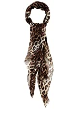 Leopard Print Scarf