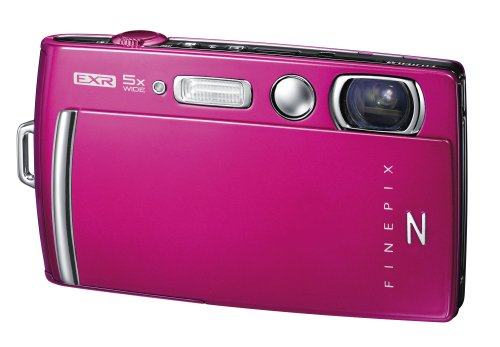 Fujifilm FinePix Z1000EXR Digital Camera - Pink (16MP EXR CMOS Sensor, 5x Optical Zoom) 3.5 inch Touch Screen
