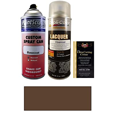 2013 Mini Cooper Hot Chocolate Metallic A88 Touch Up Paint Spray Can Kit Original