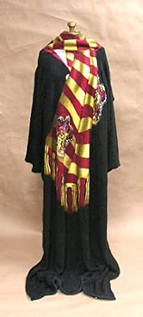 Harry Potter (Winter Look) Micro Raschel Comfy Throw Blanket with Sleeves
