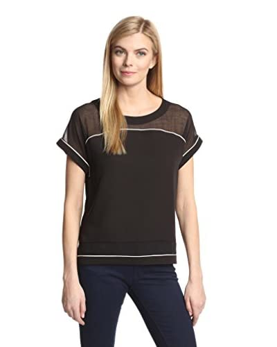 Insight Women's Tee with Piping