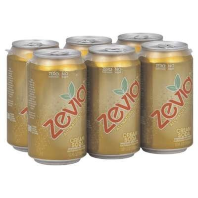 Zevia Cream Soda 72.0 FO(Pack of 6) (Zevia Cream Soda compare prices)