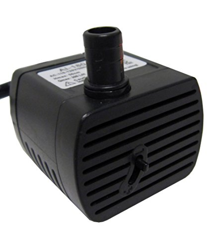Fully Submersible Fountain Water Pump 52gph (Pump For Drinking Fountain compare prices)