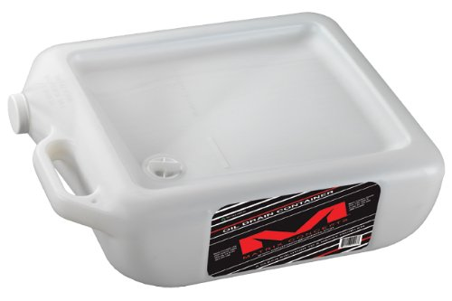 Matrix Concepts M28 Oil Drain Container, Clear (Motorcycle Oil Drain Pan compare prices)