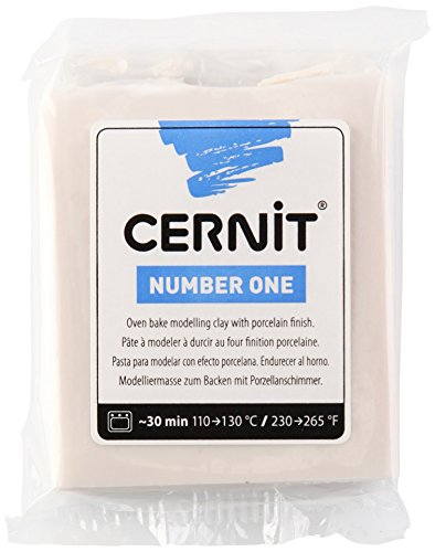 Cernit Modelliermasse Backofen Number One Biscuit 62 g