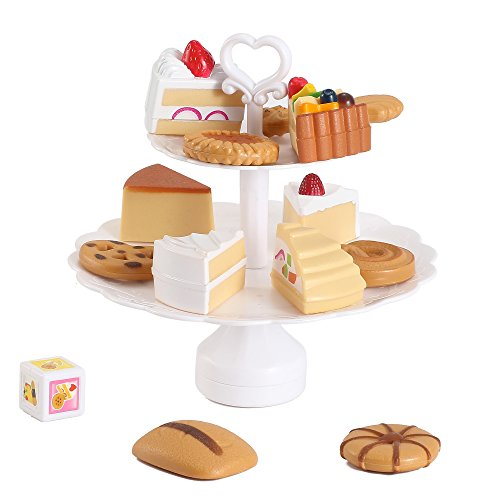 Liberty Imports Cookies and Desserts Tower Balance Game - Play Food Toy Set for Kids (Play Dessert Food compare prices)