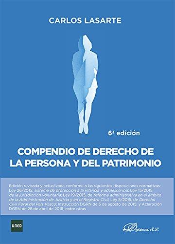 Compendio de Derecho de la Persona y del Patrimonio.