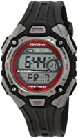 Armitron Unisex 456999RED Sport Chronograph Silver-Tone and Black with Red Accents Watch from Armitron