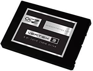 OCZ 60GB Vertex 3 SATA 6Gb/s 2.5-Inch Performance Solid State Drive (SSD) with Max 535MB/s Read and  Max 4KB Write 80K IOPS- VTX3-25SAT3-60G