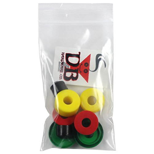 Dimebag Skateboard Truck Bushing Kit, Rasta (Bones Medium Bushings compare prices)