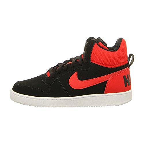 Nike COURT BOROUGH MID - Scarpe da ginnastica Uomo, Nero, 43