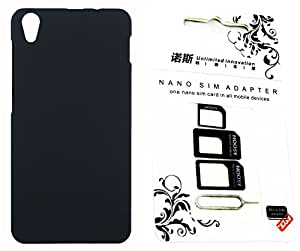 FCS Rubberised Hard Back Case For Lenovo S850 With Sim Adaptor