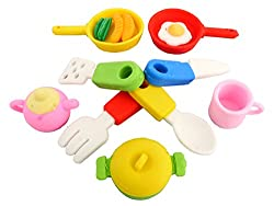 COI 3D FUNKY KITCHEN SET ERASERS FOR KIDS-K0002_2