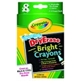 Distinctive Crayola Dry Erase 8 Bright Crayons - Cleva Edition H8' Bundle