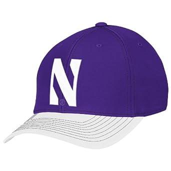 Buy NCAA Northwestern Wildcats Mens Structured Flex Hat by adidas