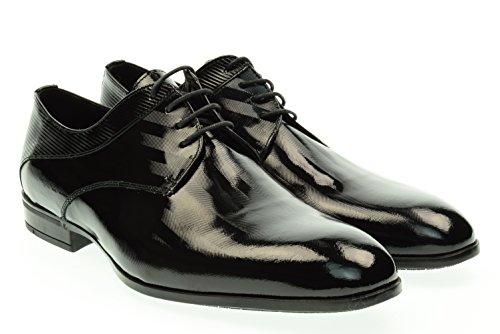 EVEET uomo scarpe eleganti 15010 MARMO 44 Nero